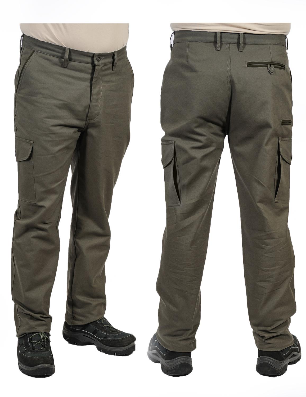 Myslivecké kalhoty kapsáče TWILL cfe64c7034