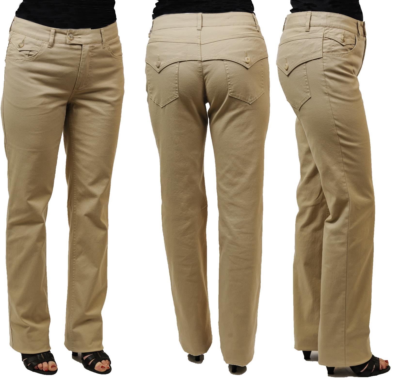 Dámské kalhoty s patkami 07ff052028