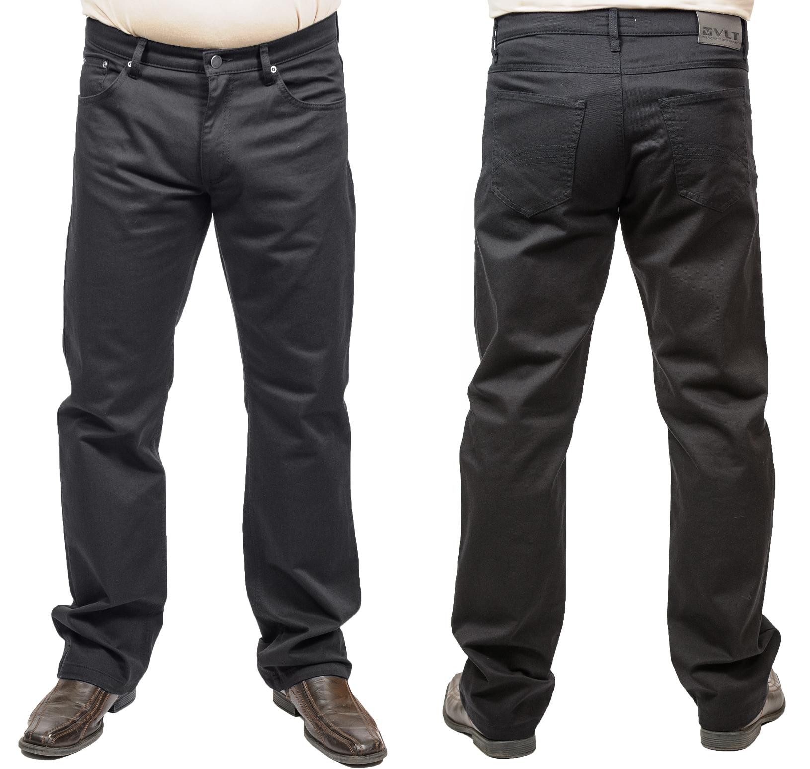 Pánské černé kalhoty abf50da6c1